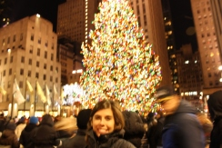 Rockefeller Center, New Years Eve 2012