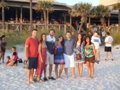 The crew in Panama City Florida 2012