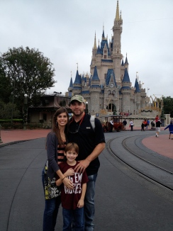 Disneyworld with our nephew, 2012